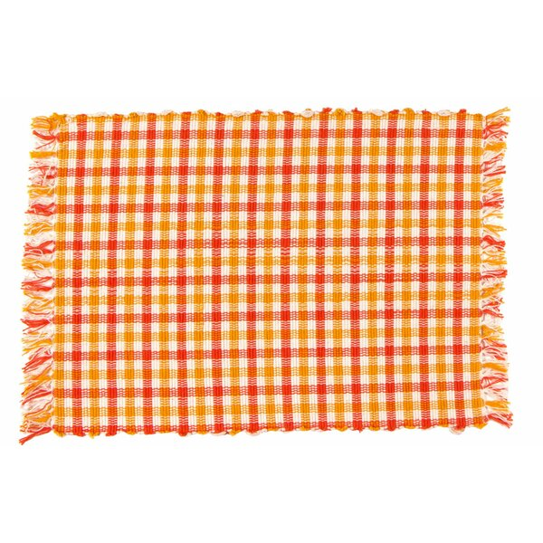 Cheddar 100% Cotton 18 Placemat (Set of 6) by Traders and Company